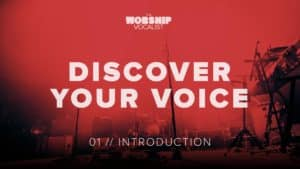 voice lessons video for worship vocalists