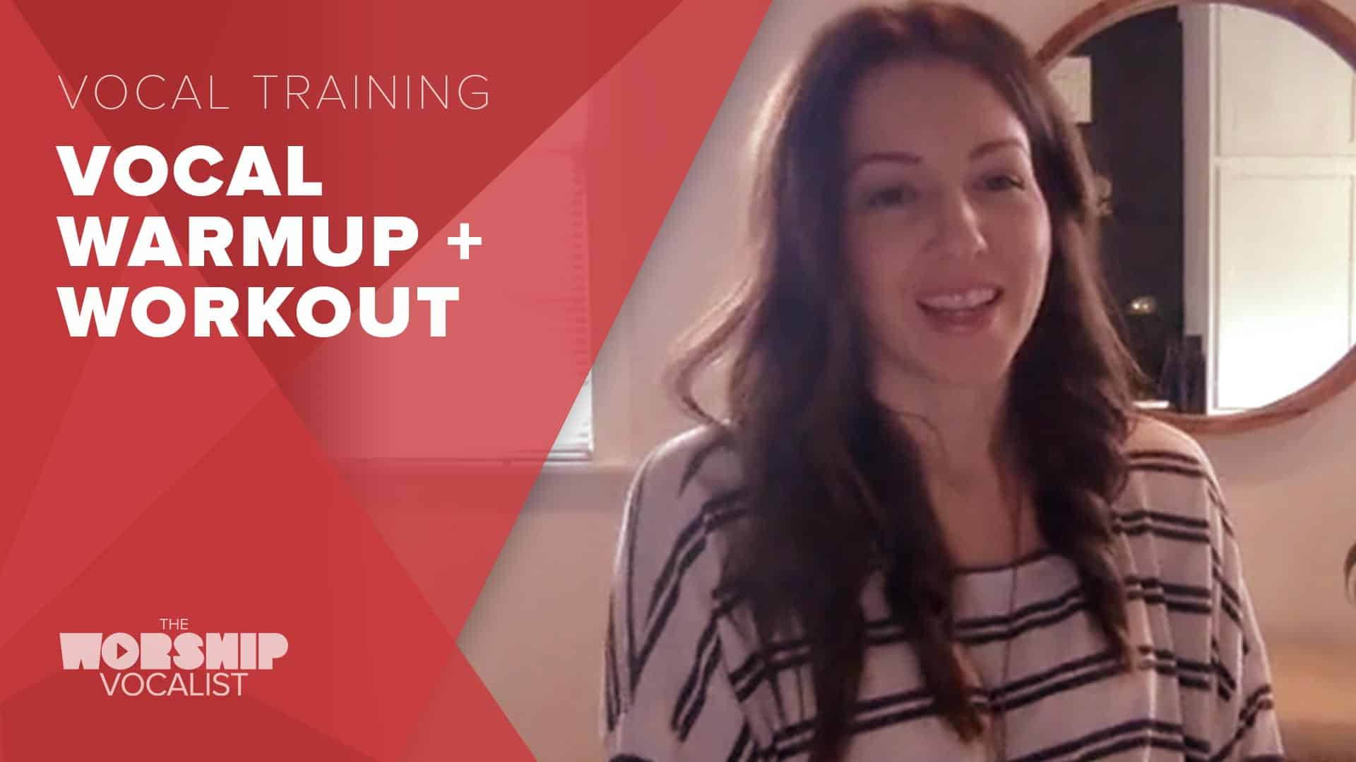 Vocal Warmup + Workout with Shelby Rollins
