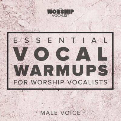 Album Art for Essential Vocal Warmups for Worship Vocalists - Male Voice