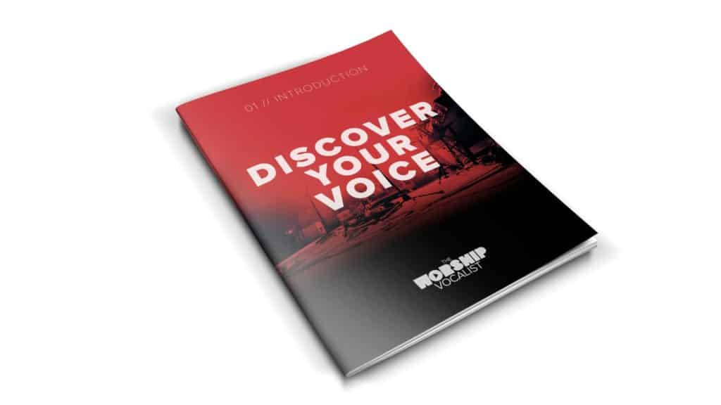 """The """"Discover Your Voice"""" 63-page companion workbook"""