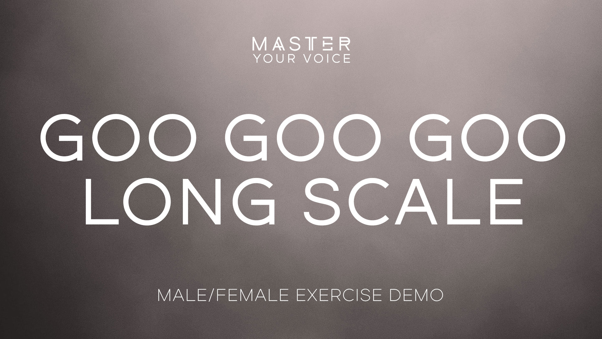 Goo Goo Goo Long Scale Exercise Demo