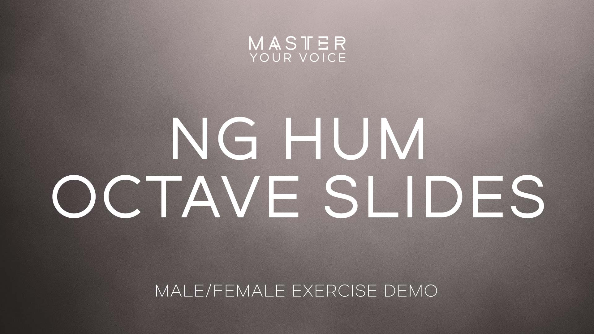 Ng Hum Octave Slides Exercise Demo