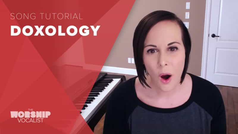 How to sing Doxology in a contemporary voice
