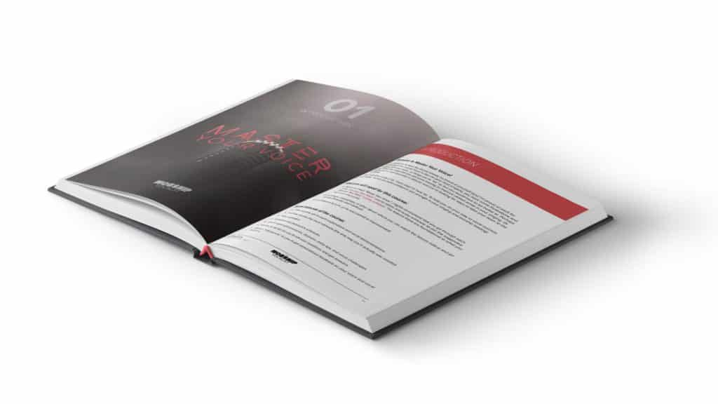Print out the comprehensive 688-page workbook to accompany this course