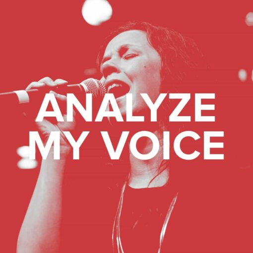 Analyze My Voice - Vocal Analysis Service