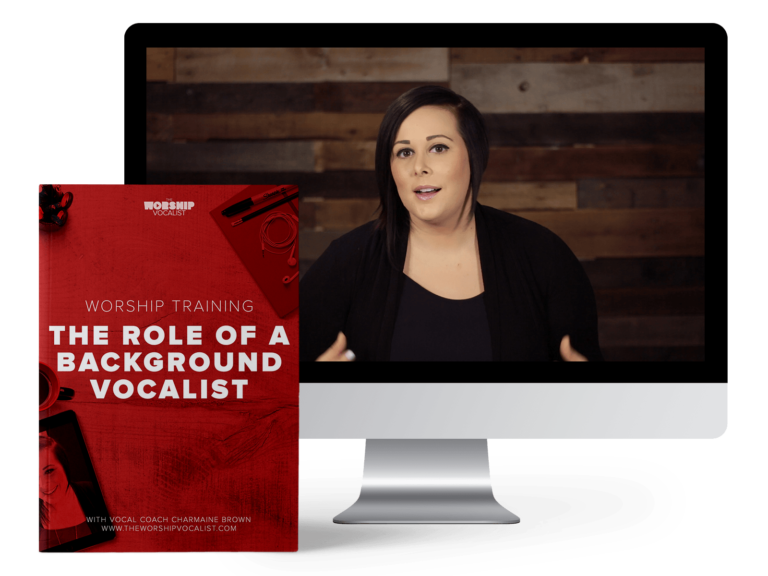 Free 13-page workbook and training video for background worship vocalists to understand their role