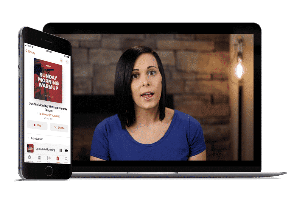 How to Warm Up on Sunday - Free Video Guide and Audio Download for Singers on Worship Teams