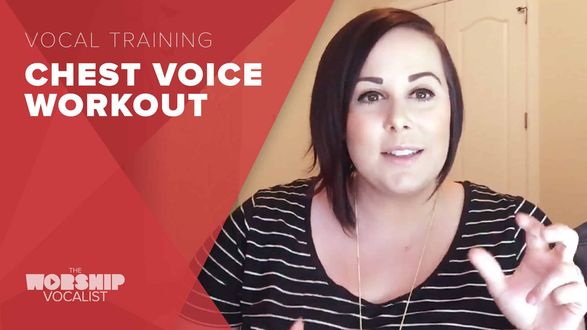 Low Range Chest Voice Workout