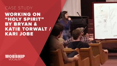 "Song Workshop – ""Holy Spirit"" (Bryan & Katie Torwalt / Kari Jobe)"